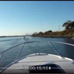 アクアマリンボートクラブから海までの航路(動画)