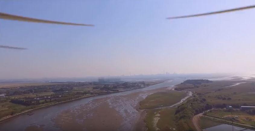 アクアマリンボートクラブ出航航路空撮動画